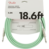 Fender Original Series Instrument Cable 18,6' Surf Green