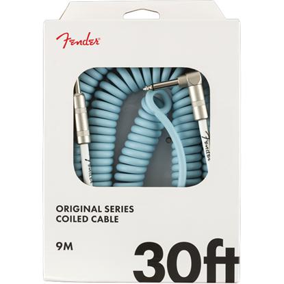 Fender Original Series Coil Cable 30' Daphne Blue