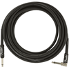 Fender Professional Series Instrument Cable 15' Angled Black