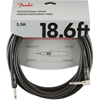 Fender Professional Series Instrument Cable 18,6' Angled Black