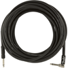 Fender Professional Series Instrument Cable 25' Angled Black