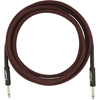 Fender Professional Series Instrument Cable 10' Red Tweed