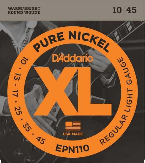 Bild på Daddario EPN110 Pure Nickel
