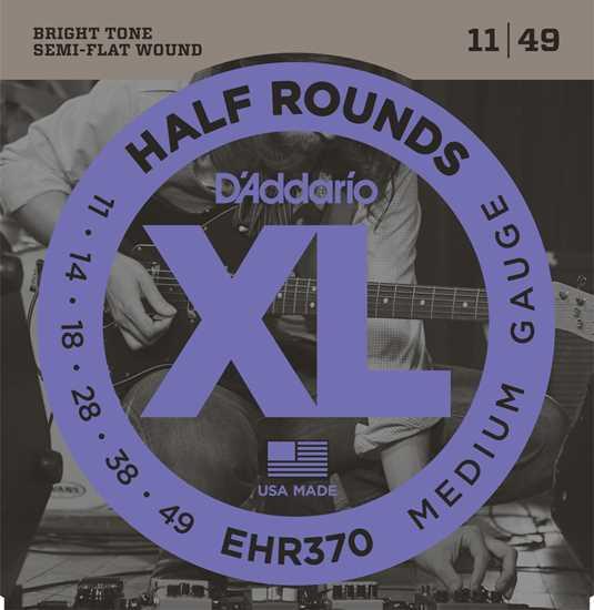 Bild på Daddario EHR370 Half Rounds
