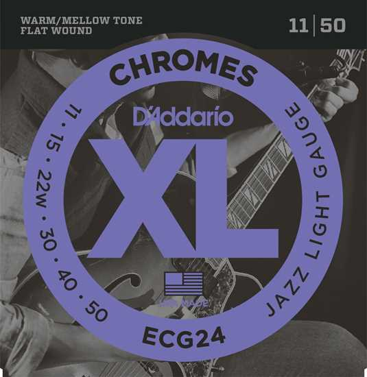 Bild på Daddario ECG24 Chromes