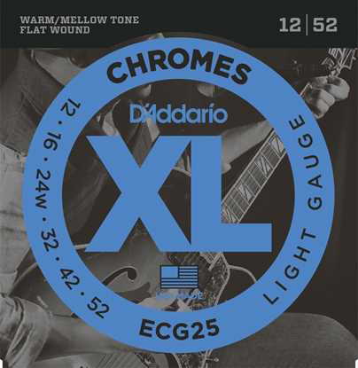 Bild på Daddario ECG25 Chromes