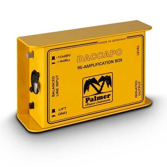 Bild på Palmer Daccapo Re-Amping Box
