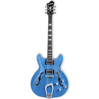 Hagström Viking Deluxe Custom Miami Blue Metallic