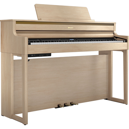 Roland HP704 Light Oak