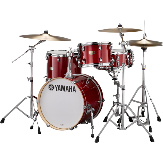 Yamaha Stage Custom Bop Kit Cranberry Red