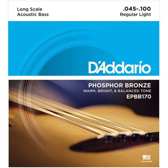 Bild på D'Addario Strängset Akustisk Bas EPBB170