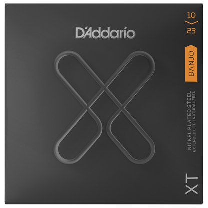 D'Addario XTJ1023 Banjo Medium
