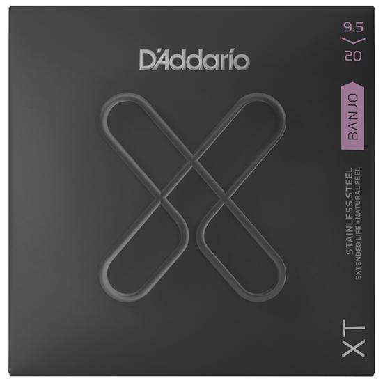 D'Addario XTJ09520 Banjo Custom Light