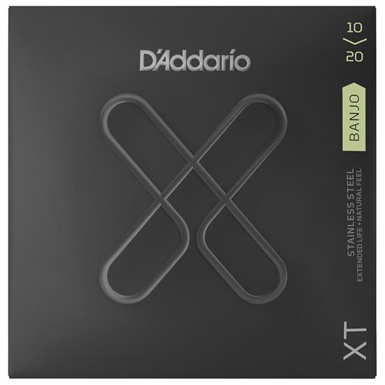 D'Addario XTJ1020 Banjo Light Medium