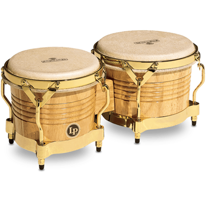 Bild på Latin Percussion Matador M201-AW  Bongo Natural/Gold