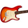 Fender American Ultra Stratocaster® Rosewood Fingerboard Plasma Red Burst