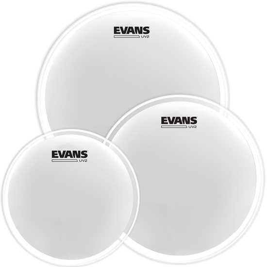 Evans UV2 Coated Tom Pack Rock