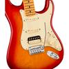 Fender American Ultra Stratocaster® HSS Maple Fingerboard Plasma Red Burst