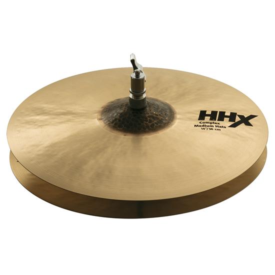 """Sabian 14"""" HHX Complex Medium Hats"""