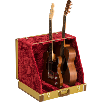 Bild på Fender® Classic Series Case Stand Tweed 3 Guitar
