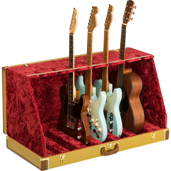 Bild på Fender® Classic Series Case Stand Tweed 7 Guitar