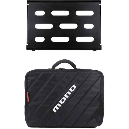 Bild på Mono PACKPFX-PB-S-BLK Small pedalboard black + Club V2 black