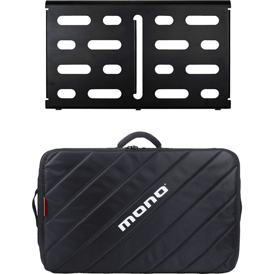 Bild på Mono PACKPFX-PB-M-BLK Medium pedalboard black + Tour V2 bag