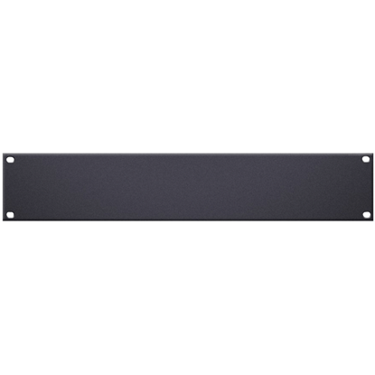 "Adam Hall 19"" U-Shaped Rack Panel 2U Aluminium"