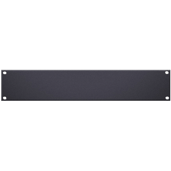 "Adam Hall 19"" U-Shaped Rack Panel 2U Aluminium"