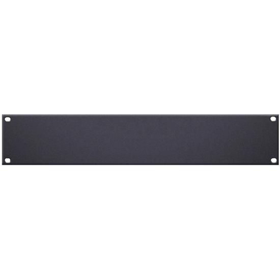 """Adam Hall 19"""" U-Shaped Rack Panel 2U Steel"""