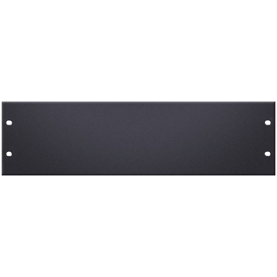 "Adam Hall 19"" U-Shaped Rack Panel 3U Aluminium"
