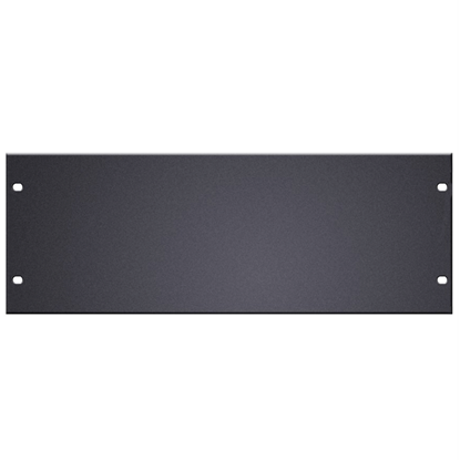 "Adam Hall 19"" U-Shaped Rack Panel 4U Aluminium"