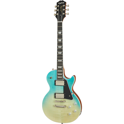 Epiphone Les Paul Modern Figured Caribbean Blue Fade