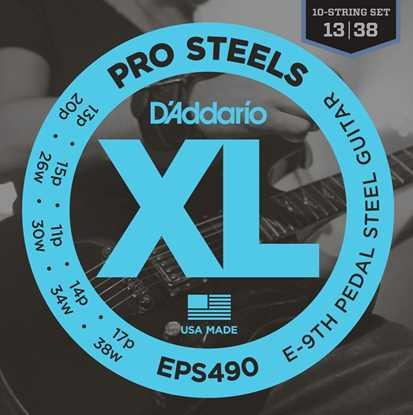 Bild på DAddario PS490 Pedal Steel strängset