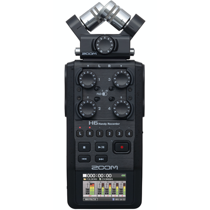 Zoom H6 Black HandyRecorder