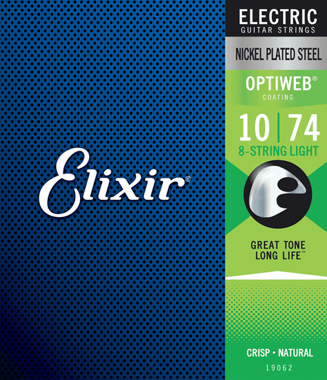 Bild på Elixir Optiweb® 8-String 10-74 Light