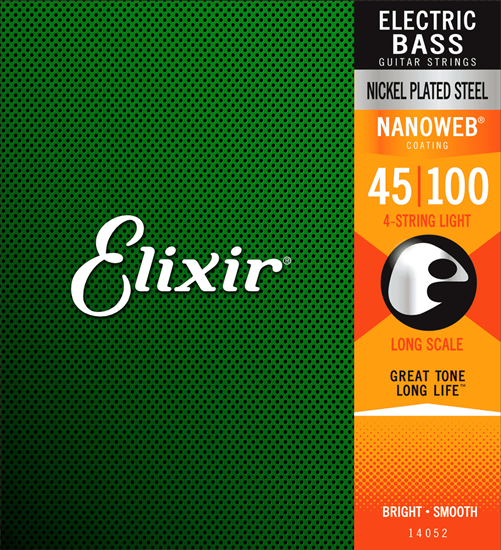 Bild på Elixir Nanoweb® Electric Bass Light 045-100