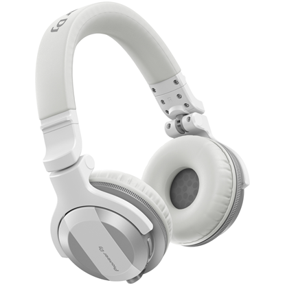 Pioneer HDJ-CUE1BT White Styled DJ Headphones With Bluetooth