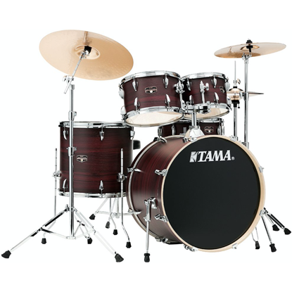 Tama Imperialstar IE52KH6W Burgundy Walnut Wrap