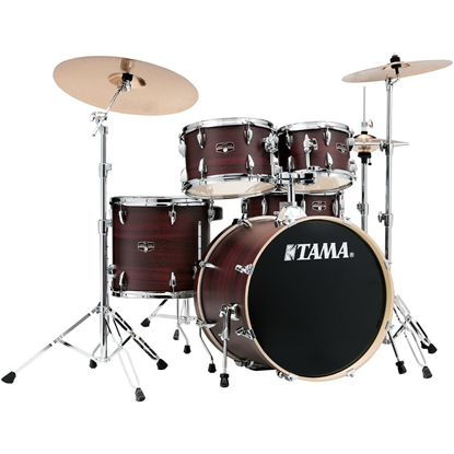 Tama Imperialstar IE50H6W Burgundy Walnut Wrap