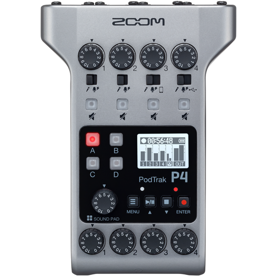Zoom Podtrak P4 Podcasting Recorder