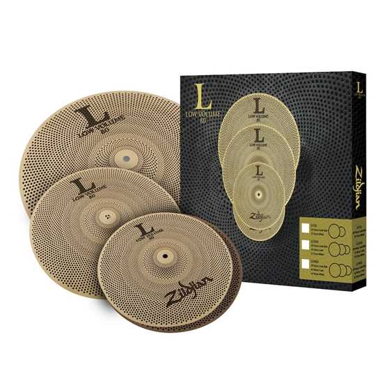 Bild på Zildjian LV348 Low Volume Cymbal Pack