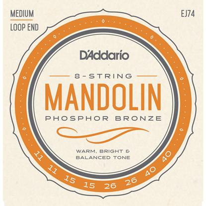 Bild på Daddario EJ74 Mandolin Medium