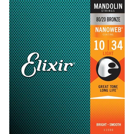 Bild på Elixir  Nanoweb Mandolin Light 11500