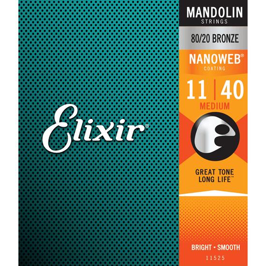 Bild på Elixir  Nanoweb Mandolin Medium 11525