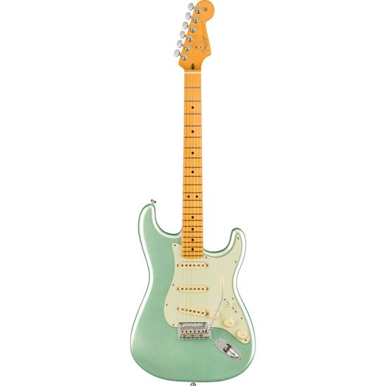 Fender American Professional II Stratocaster® Maple Fingerboard Mystic Surf Green