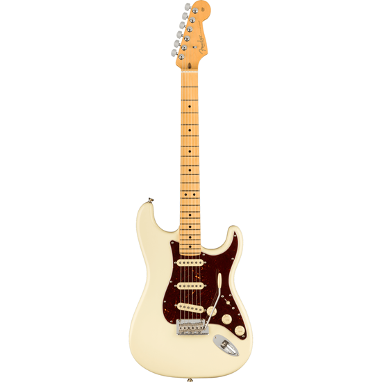 Fender American Professional II Stratocaster® Maple Fingerboard Olympic White