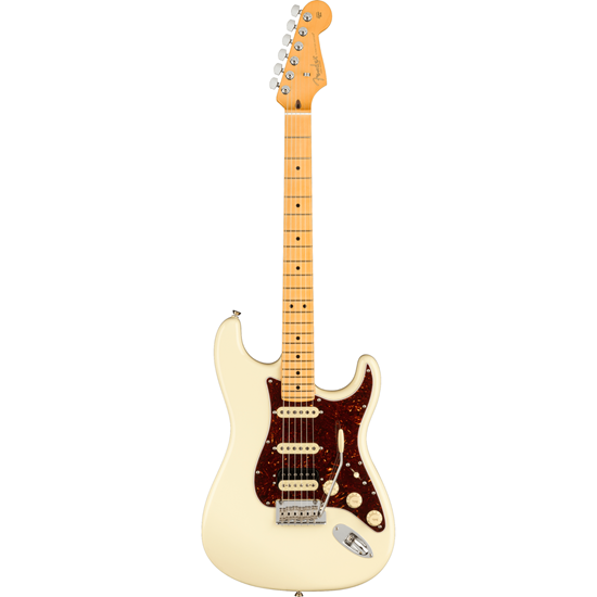 Fender American Professional II Stratocaster® HSS Maple Fingerboard Olympic White
