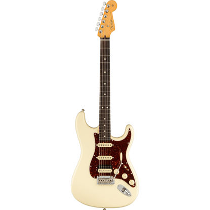 Fender American Professional II Stratocaster® HSS Rosewood Fingerboard Olympic White