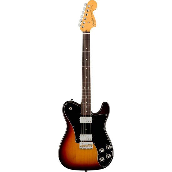 Fender American Professional II Telecaster® Deluxe Rosewood Fingerboard 3-Color Sunburst